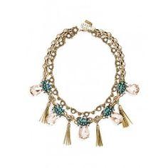 { statement necklace- bauble bar }