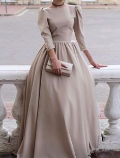 Muslim Fashion 608126755922862205 - Hijab Fashion 611645193128113965 – Voici la robe – Vêtements Hijab – – robe de mariée – Source by coiffureVin Source by Trendy Dresses, Modest Dresses, Elegant Dresses, Beautiful Dresses, Nice Dresses, Formal Dresses, Dresses For Hijab, A Line Dress Formal, Modest Clothing