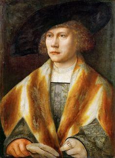 Bernaert van Orley, Portret van  een jonge man (Portrait of a young man)