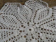 tappeto fiore uncinetto di bandullera su DaWanda.com