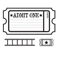 Cute Idea For A Classroom Reward Movie Ticket Theme Party