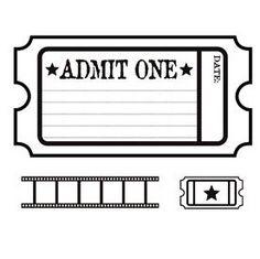 Staples Ticket Template. blank printable admit one invitations ...