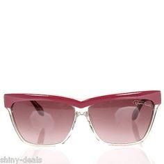 ROBERTO CAVALLI New Woman Pink Plastic Frame MEERU Eyewear Sunglasses $257 SALES