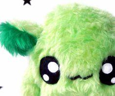 Fluse Kawaii Plush cute  Monster stuffed animal green von Fluse123