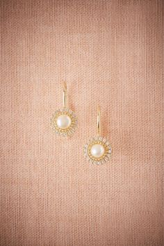 BHLDN Saray Drops in  Bride Bridal Jewelry Earrings at BHLDN