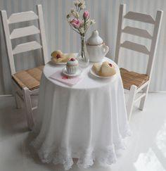 Miniature Shabby Chic Cafe