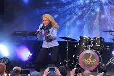 Schlagerstar Nicole begeisterte das Publikum. (Foto: C. Borger)