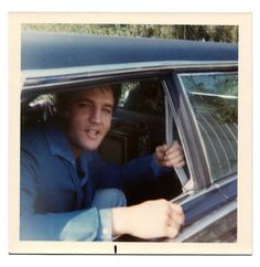 """Note the TV set inside the limo, pretty cool. It's apparently a 1967 Lehmann Peterson limousine, and he appears to be outside his home at 10550 Rocca Place Los Angeles. The photos look very much like how he appeared in MGM's 'Speedway,' so I would date these to circa June 1967."" ~ drjohncarpenter on FECC forum http://www.elvis-collectors.com/forum/viewtopic.php?f=76&t=91536&view=unread#unread"