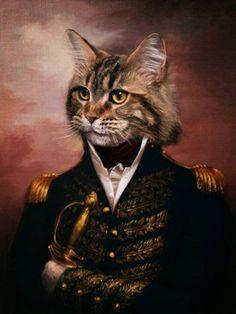 Captain Claw by DSSiege11.deviantart.com on @deviantART. Anthropomorphic cat art.