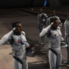 Fives and Echo, my brothers, being promoted after their heroics at the Rishi moon post. They were good men, and I trusted them to fight beside me in the 501st.