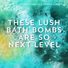 Prepare to be oddly satisfied by this Lush bath bombs video.