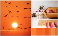 COLORS: el efecto del NARANJA en nuestro espacio    El naranja pertenece al elemento Fuego. Es el color que nos conecta con la alegria y el sentido del humor. Nos eleva el animo y nos estimula, invitandonos a ser mas proactivos y sociales. Recomendamos utilizarlo en espacios comunes como el comedor o la cocina, pero a pequeñas dosis pues en exceso nos puede activar demasiado  www.kumkum.es
