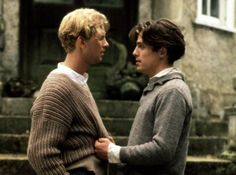 Hugh Grant and James Wilby in Maurice - one of my favourite ever films...