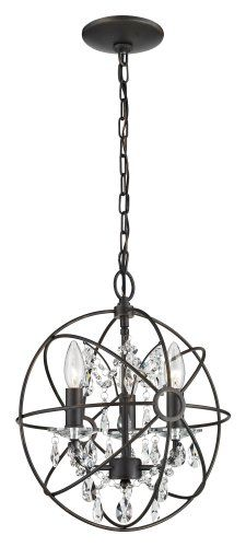 Sterling 124-003 Restoration 3-Light Metal and Crystal Globe Pendant, 13 by 53-Inch, Bronze/Clear Sterling,http://www.amazon.com/dp/B00781ODAW/ref=cm_sw_r_pi_dp_dhyatb0PHPNMC7NV