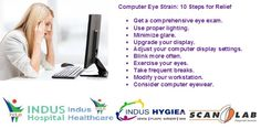 10 Steps for relief: Computer Eye Strain