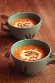 a dash of faith: curried carrot coconut soup  #GF, #Vegan, #soup