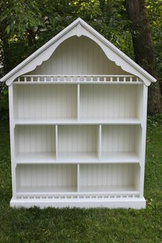 dollhouse bookshelf plans