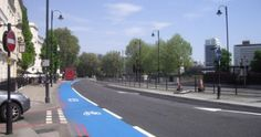 Just Pinned to Cycle Lane Colour Painting: Playground Coloured...