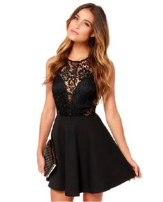 LM-Boutique-New-Black-Lace-Dress-Small-Cyber-Monday-Deal-2-Day-Free-Shipping