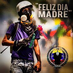 """Anonymous Venezuela Te gusta esta página · Ayer ·   FELIZ DÍA MADRES: Mujeres guerreras que parieron héroes. Venezolanas Con Ovarios Que Levantaran Un País. Su voz a la distancia dándome la bendición, y su abrazo bendito una vez regreso a casa.. a todas las madres de la resistencia FELICIDADES EN SU DÍA. """"LAS AMAMOS"""" Att: ANONYMOUS VENEZUELA Y RESISTENCIA ESTUDIANTIL"""