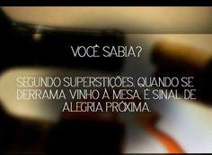 #Vinho & #Curiosidade