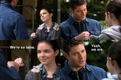 Dean and Krissy - love their relationship!  - 7x11 Adventures in Babysitting