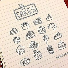 doodles_cakes #cake #icon #bulletjournal #stationary #stationaryaddict #handlettering #calligraphy  #moderncalligraphy #scrapbooking #doodle #lettering #font #brushpens #Kawaiistationary #cupcakes #doodle #filofaxgoodies #planner #planning #planneraddict #plannernerds #plannercommunity #plannersupplies #filomaniac #filofax #plannerlove #bulletjournaljunkies #bulletjournalchallenge #bujo #midoritravelersnotebook