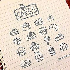 doodles_cakes #cake #icon #bulletjournal #stationary #stationaryaddict #handlettering #calligraphy  #moderncalligraphy #scrapbooking #doodle #lettering #font #brushpens #Kawaiistationary #cupcakes #doodle #filofaxgoodies #planner #planning #planneraddict #plannernerds #plannercommunity #plannersupplies #filomaniac #filofax #plannerlove #bulletjournaljunkies #bulletjournalchallenge #bujo #midoritravelersnotebook