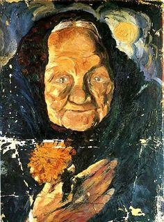 Dali, Salvador (1904-1989) - 1918 Portrait of Lucia