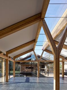 Stepping Stone House by Hamish & Lyons - Dwell Roof Design, Window Design, Roof Skylight, Modern Windows, Small Buildings, Glass Roof, House Built, House Extensions, Stone Houses
