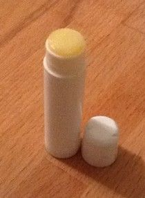 HOMEMADE MAMA'S LIP BALM:  In the microwave, melt 1/3c canola oil (or any kind) with 1/8c beeswax pellets (or grated beeswax- organic cosmetic grade is recommended).  Microwave til wax melts – about 3 min.  Stir well & pour into containers to harden (about 30 min.)  Makes about 1/3c lip balm.  Use empty lip balm tubes or any container. Can order 10-pack at Amazon cheaply.