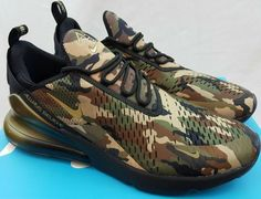 39d809f3c57 Nike Air Max 270 DB Doernbecher Freestyle Camo BV7112-001 Aiden Barber Size  14