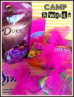 Girls Camp Awards. From Marci Coombs Blog