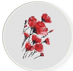 One Stop for your Cross Stitch Passion! by CrossStitchPassions Cross Stitch Pattern Maker, Modern Cross Stitch Patterns, Counted Cross Stitch Patterns, Cross Stitch Embroidery, Poppy Craft, Hand Embroidery Patterns, Cross Stitch Flowers, Red Poppies, Cross Stitching