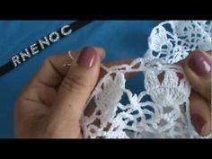 6 DE 13 COMO TEJER PASO A PASO VESTIDO SALIDA ALBERCA GANCHILLO CROCHET - YouTube Crochet Diy, Irish Crochet, Bikinis Crochet, Crochet Videos, Crochet Cardigan, Cotton Thread, Hair Pins, Crochet Projects, Crochet Earrings