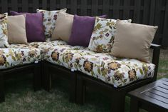 Outdoor Sectional {Completed} -