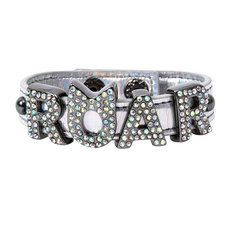 Stand up and ROAR with confidence in this Limited Edition Swarovski Crystal Katy Perry Roar Bracelet!