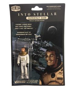 Big-Bot's Into Stellar Bootleg Toy is guaranteed to underwhelm you…..just like the movie!  Figure comes with custom packaging on heavy duty stock and in a clamshell case that can be opened making the packaging suitable for display but also storage.  All Big-Bot Bootlegs are re-purposed and mo...
