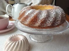 Bábovka s mascarpone Vanilla Cake, Cheesecake, Pudding, Sweet, Cupcakes, Recipes, Pizza, Bundt Cakes, Blog