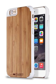 Amazon.com: iPhone 6 Plus / 6s Plus Case | Bamboo / White - iCASEIT [Non-Slip] [Exact-Fit] Unique & Slim [Fit Series] [Thin Fit] Premium Non Slip for iPhone 6 Plus / 6s Plus (5.5 Display) - Bamboo / White: Cell Phones & Accessories