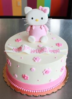 Check out some of the many custom kids birthday cakes we've made over the years. Let us know what we can make for your child's birthday party! Cupcakes, Cupcake Cakes, Anniversaire Hello Kitty, Hello Kitty Cake, Shops, Gateaux Cake, Pastry Art, Birthday Parties, Birthday Cakes