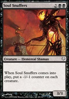 Soul Snuffers ($.25) Price History from major stores - Eventide - MTGPrice.com Values for Ebay, Amazon and hobby stores!