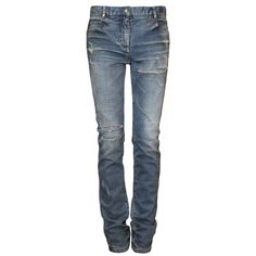 BALMAIN Blue Vintage Jeans, found on polyvore.com   .... but $700 + for jeans? Really?