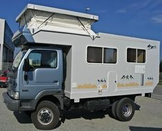 I took notice when Doug Hackney saw a Polycomposit camper in Peru and called it his favorite design that fits into a shipping container. Diy Camper, Truck Camper, Camper Trailers, Camper Van, Slide In Camper, Off Road Camper, Overland Trailer, Overland Truck, Cool Rvs