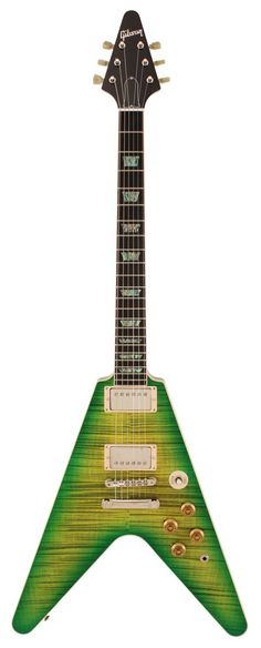 I would never buy or really play a Flying V, but you gotta admit this is pretty cool