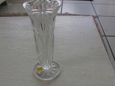 vintage 50er alte Vase aus Bleikristall von MajaSt auf DaWanda.com