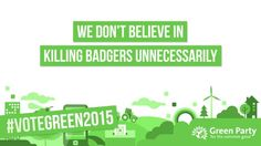 We don't believe in killing badgers unnecessarily
