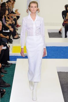 Jil Sander Spring 2012 Ready-to-Wear Fashion Show Collection