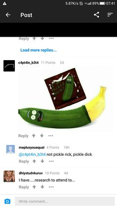 Pickle... 😂