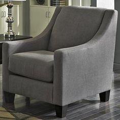Maier Accent Chair in Charcoal   Nebraska Furniture Mart